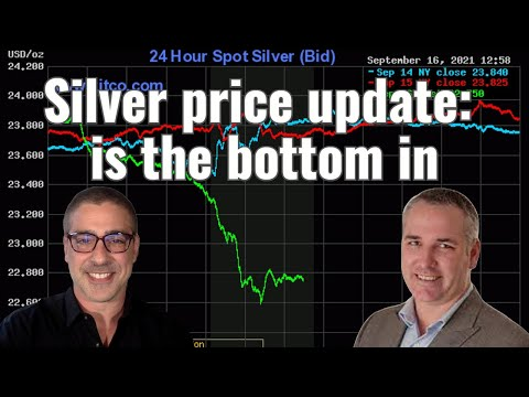 Is the Silver bottom in?