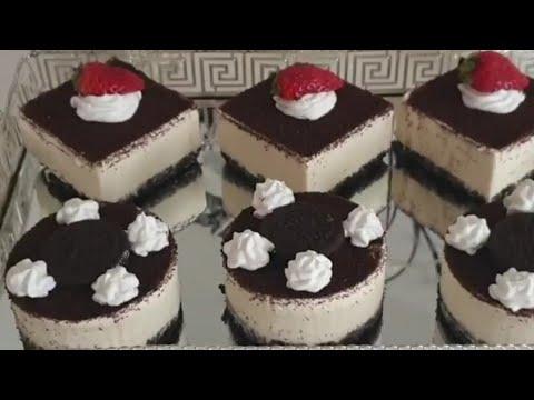 cheesecake-oreo-sans-cuisson-🍰😋تشيز-كيك-اوريو-سريع-التحضير