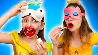 Beauty challenge between Elisa and Malena!