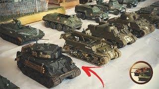 Куча Танков в 1/72  FURY,  Тигр, FV 4005, ИС-3