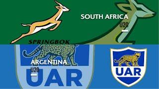 World Rugby U20 Championship 2019 - Argentina U20 v South Africa U20