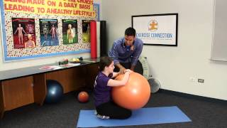 Autism in Children:  Exercises to Help Calm the Body