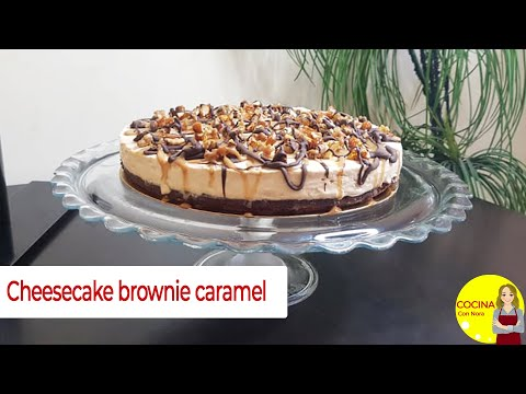 la-meilleure-recette-du-brownie-cheesecake-au-caramel---احلى-وصفة-براوني-تشيز-كيك-كراميل