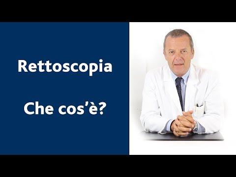Cos'è una rettoscopia?