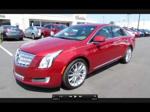 2013 Cadillac XTS Platinum Collection AWD Start Up, Exhaust, and In Depth Review