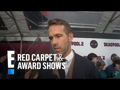 """Ryan Reynolds Raves Over Celine Dion's """"Deadpool 2"""" Theme Song 