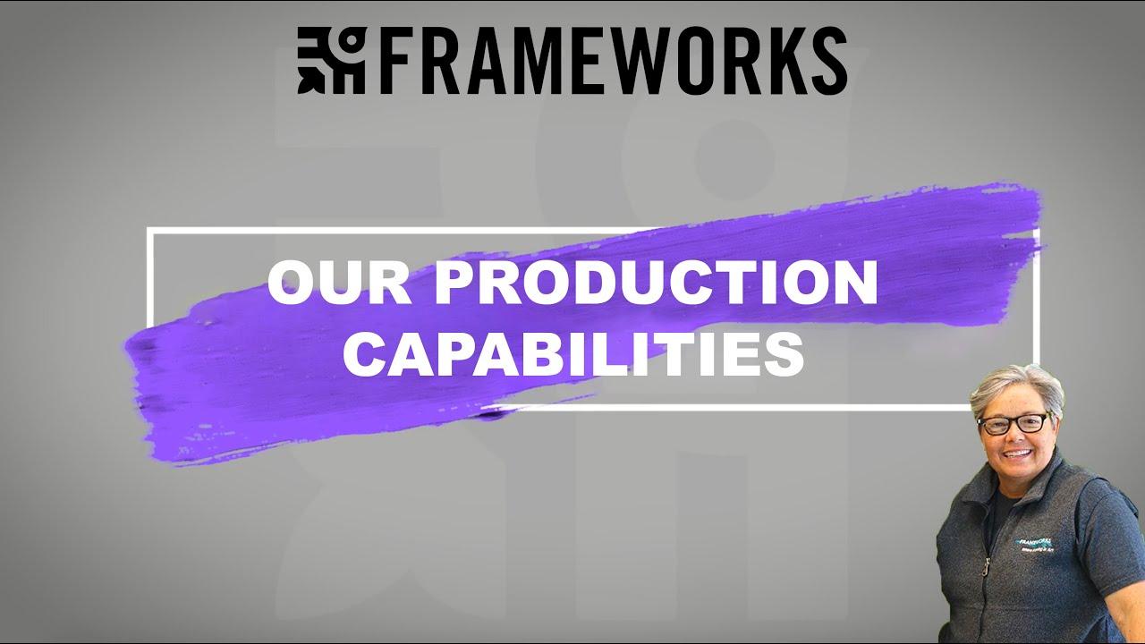 custom framing miami our production capabilities at the valmar location