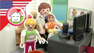 Playmobil English A Day with Daddy - The Hauser Family - toys for kids
