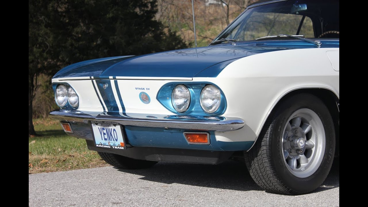 1of1 1966 Chevy Corvair Yenko Stinger Convertible  Bring a Trailer