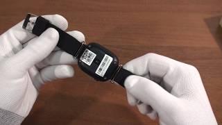 Детские умные часы c Gps Smart Baby Watch Q90 черные обзор