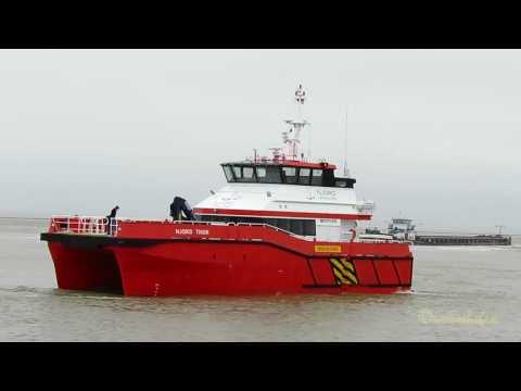offshore crew speedboat NJORD THOR 2ICE2 IMO 9751810 Emden