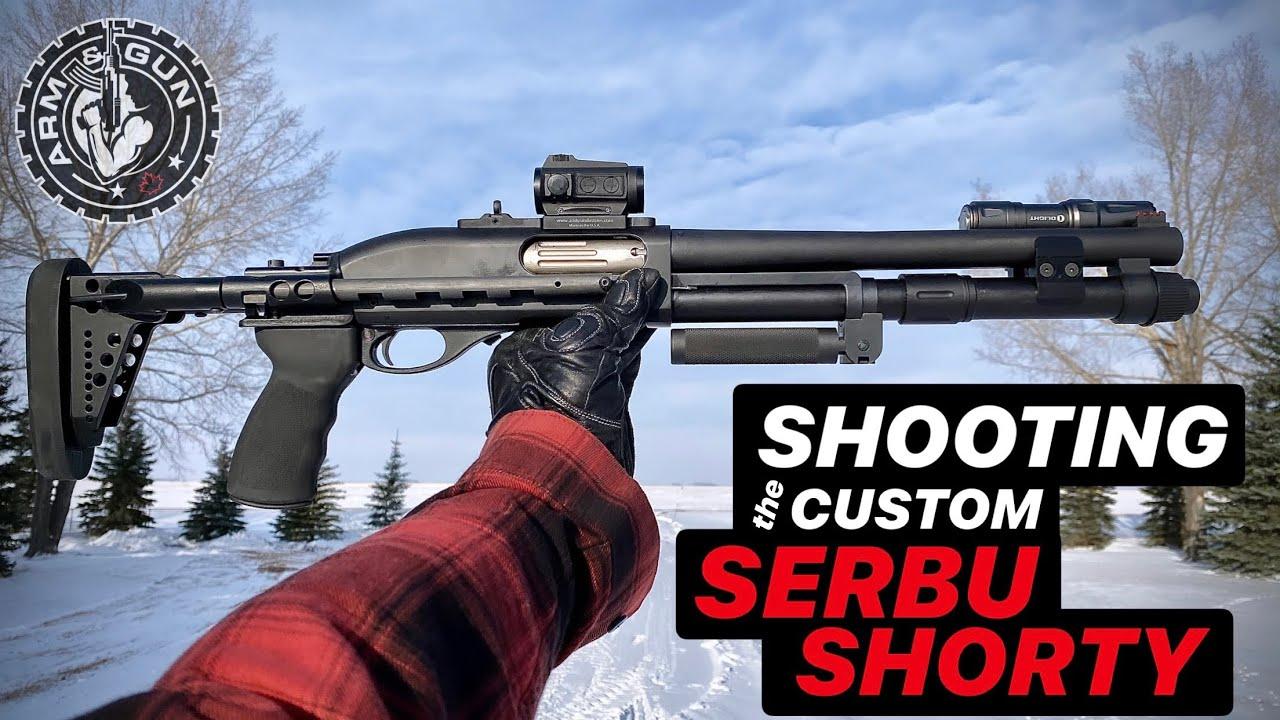 How to Shoot the Serbu Super Shorty Shotgun
