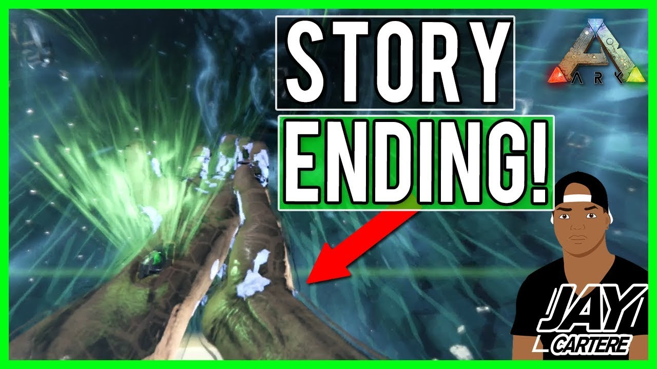 Ark Survival Evolved Story Ending - Tek Cave - Overseer Boss Fight And Ark  Story Theory