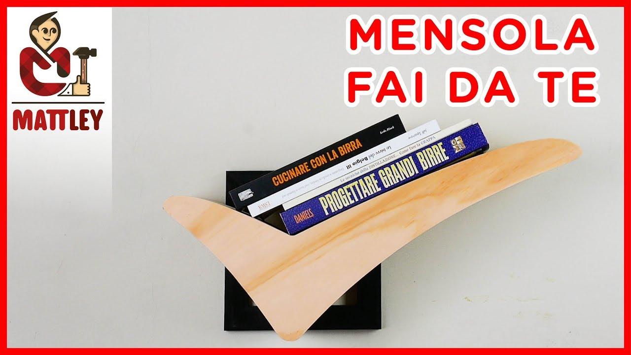 Come Fare Delle Mensole.How To Make A Wooden Diy Floating Shelf