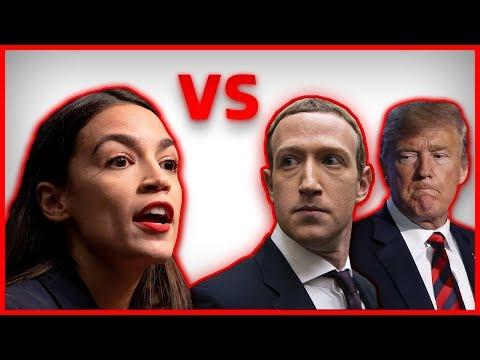 Trump & Zuckerberg rhetorisch zerstört durch Alexandria Ocasio-Cortez!