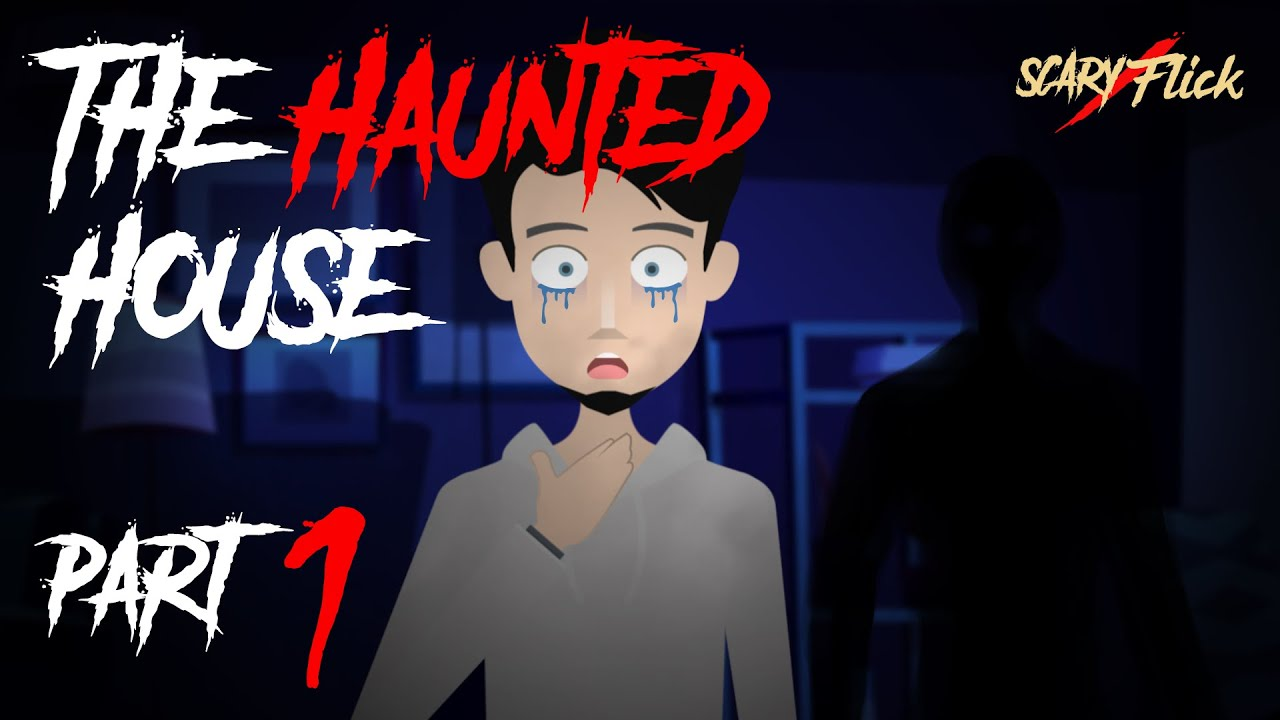Haunted House Part 1 | भूतिया घर | Animated Horror Story In Hindi I Scary Flick E52