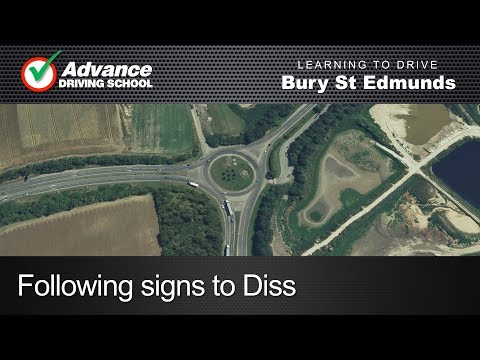 Following signs to Diss  |  Bury St Edmunds