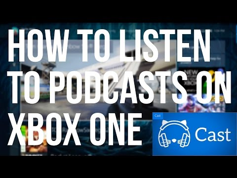How to listen to Podcasts on your Xbox One with Background Music Support #SSSVEDA #1