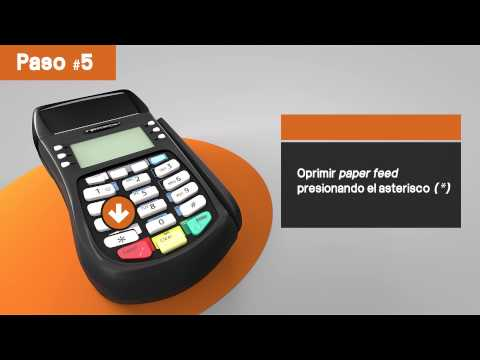 Tutorial POS - Hypercom - Printer error