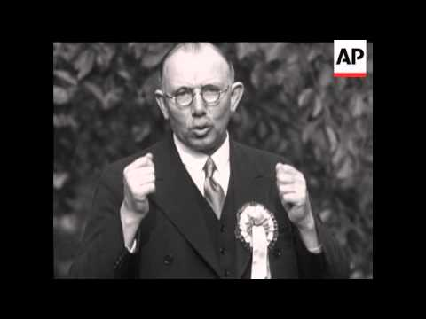 THE GENERAL ELECTION 1931 -  J H THOMAS AND JOSIAH STAMP - SOUND