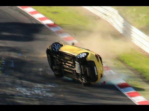 Nordschleife 2017 Crash & Fail Compilation Nürburgring Touristenfahrten