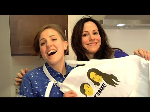 BEHIND THE SCENES w/ MARY LOUISE PARKER!