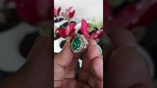 PROMO BIG SALE cincin batu akik hijau Ijo botol Garut 13 natural bukan edong bacan doko zamrud idocrase pirus klawing