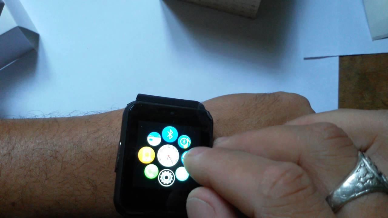 535f97230c3 Relógio Bluetooth Smartwatch Gear Chip Gt08 - YouTube
