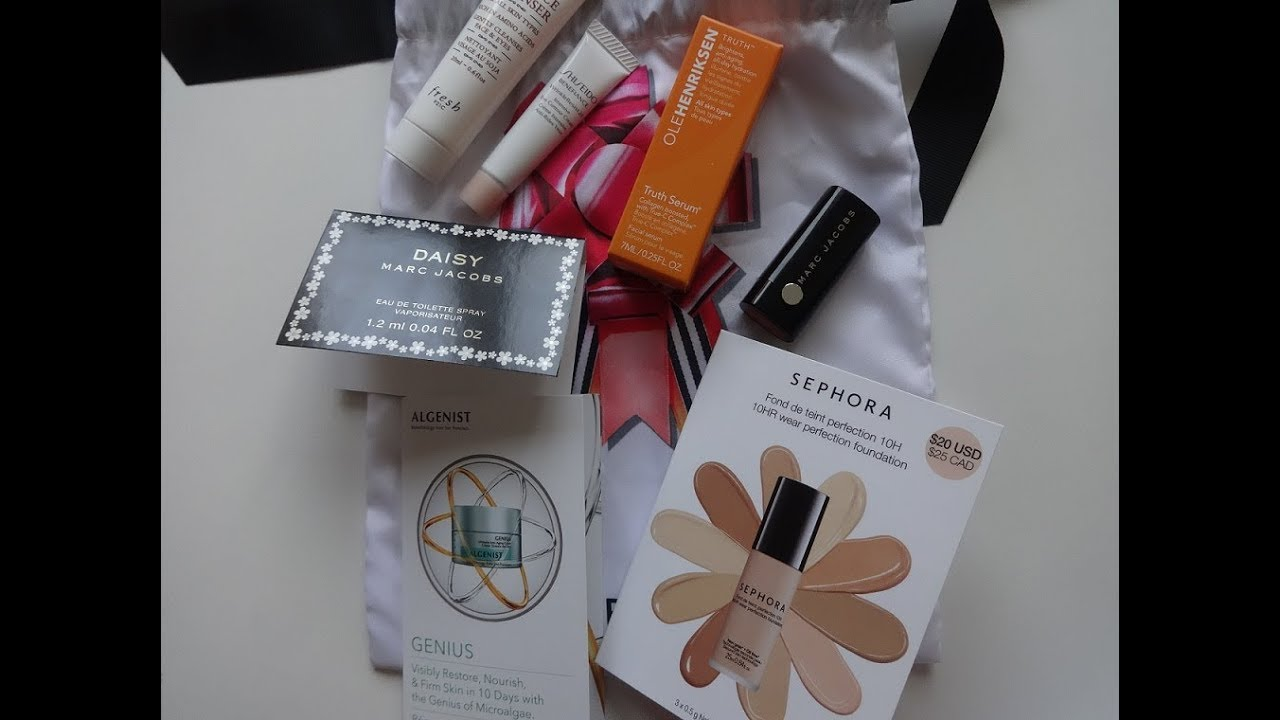 Sephora Samples-Holi night Sample Bag