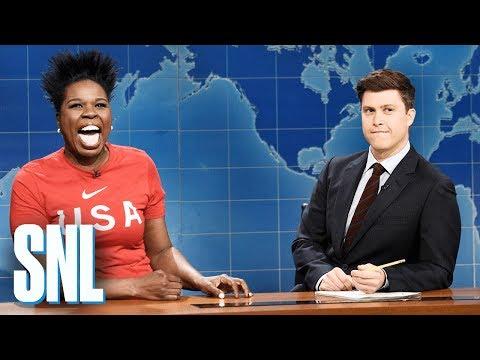 Weekend Update: Leslie Jones on the 2018 Winter Olympics - SNL