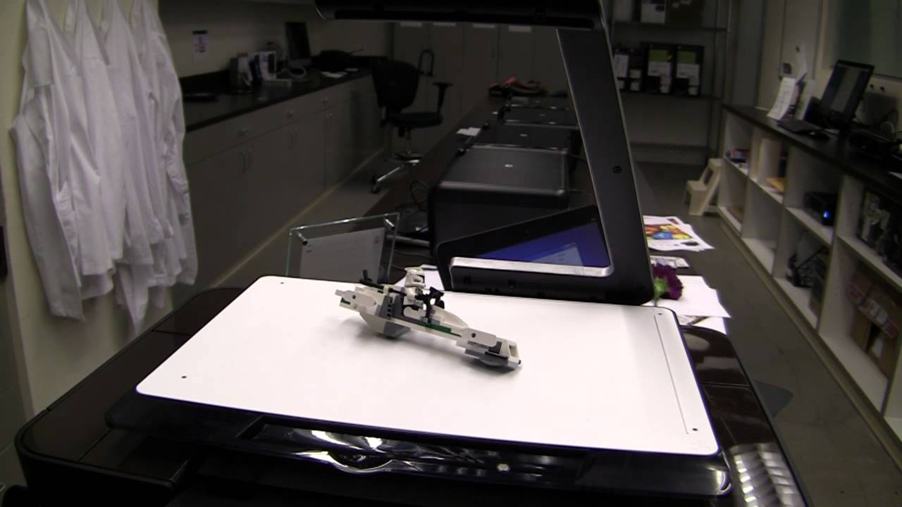 003d8f20831c Scan 3D Objects with the HP TopShot LaserJet Pro M275 - YouTube