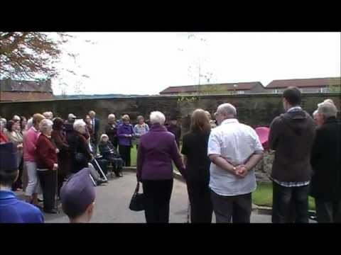 Paisley Woodside First Aid Post Memorial Unveiling Part 1