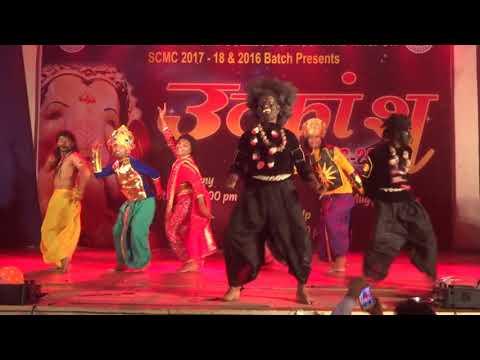 Bahubali Theme Comedy Dance - Zingaat Gang - GMC Nagpur