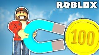 PRZYCIĄGAM NAJDROŻSZE MONETY | ROBLOX #admiros