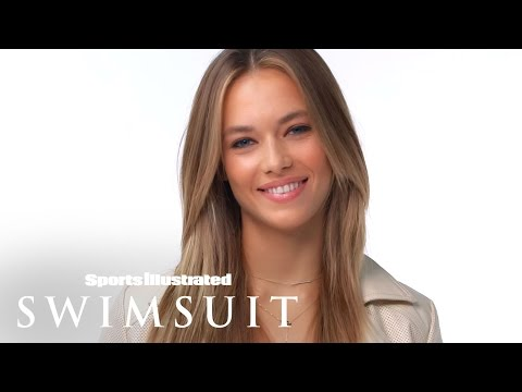 """Hannah Ferguson """"The Sexiest Part Of Man Is...""""   Sports Illustrated Swimsuit"""