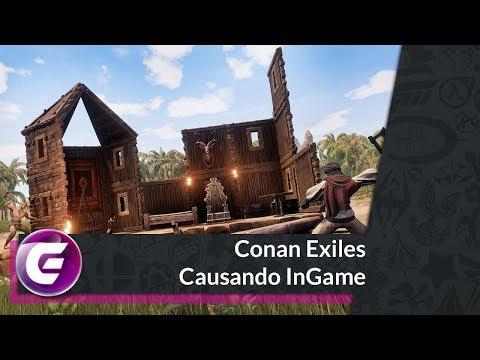 Conan Exiles - Causando InGame - @cojagamer