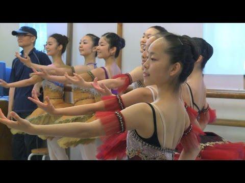 Paris ballet stars give master class to Fukushima students