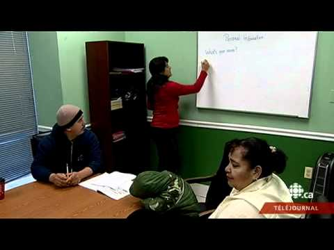 Téléjournal - L'immigration : les États-Unis