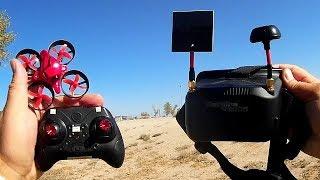 Eachine E013 Micro Drone 5 8 Ghz FPV Starter Kit Flight Test Review