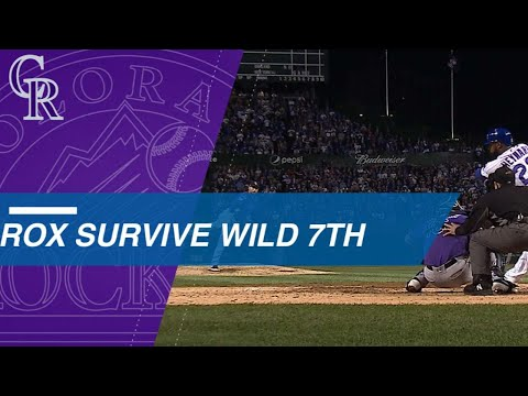 Rockies survive a wild 7th inning en route to Wild Card win Mp3