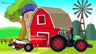 Farmer Works on farm | Tractor. Sugar beets | Rolnik Praca na Roli - Maszyny Rolnicze Bajka Buraki