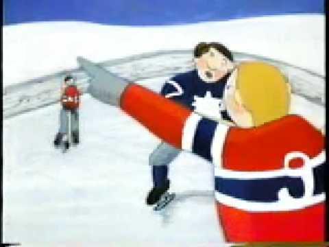 The Toronto Maple Leafs Sweater Cartoon Youtube