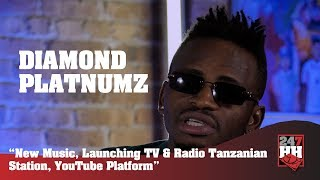 Diamond Platnumz -  New Music, Launching Wasafi TV & Radio Station, YouTube Platform (247HH EXC)