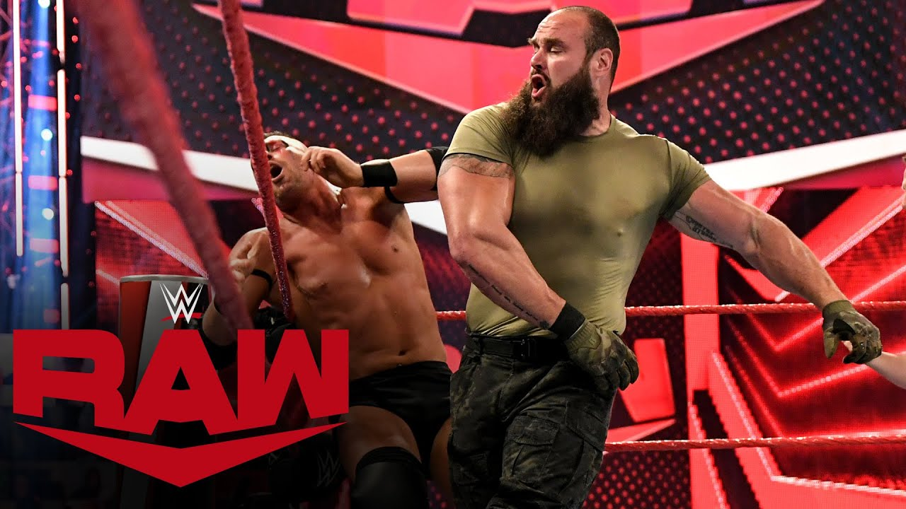 Braun Strowman vs. MACE & T-BAR: Raw, April 26, 2021