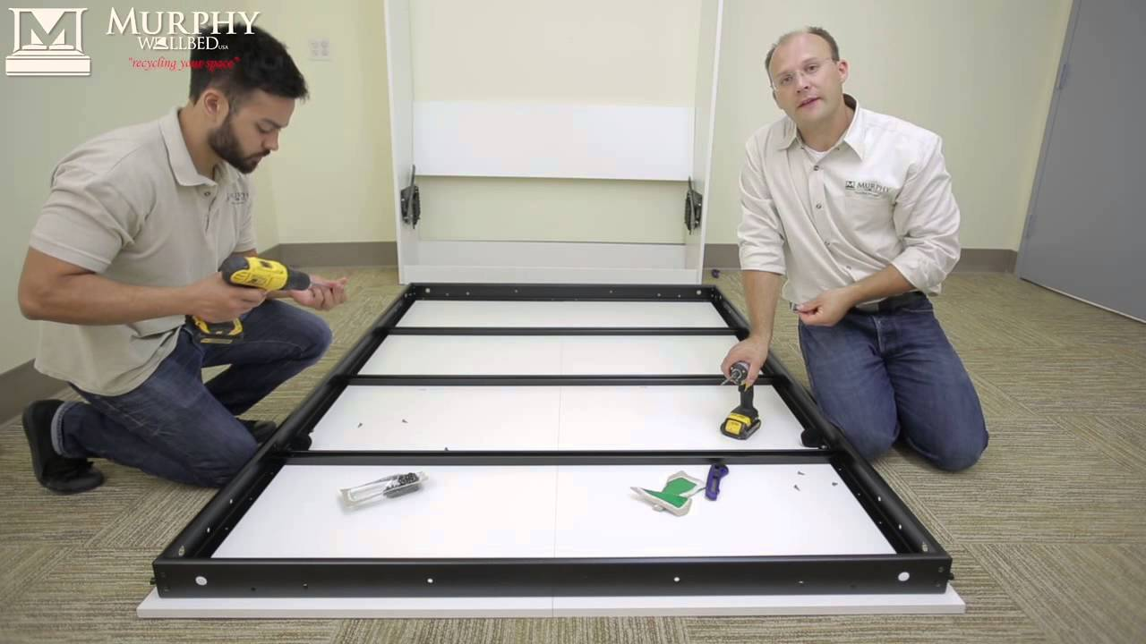 Murphy bed   Full Install Video   YouTube
