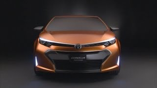 Toyota Corolla Furia Concept 2013 Videos