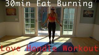 Fat Burning 30min Full body Jump Rope Workout~ Burn Fat + Build Muscle