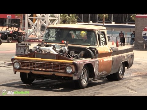 Beat Up Old Truck Turns Into Racing Machine Thanks to a ...