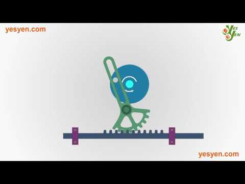 507 Mechanical Movements - Reciprocating Rectilinear motion - No: 131