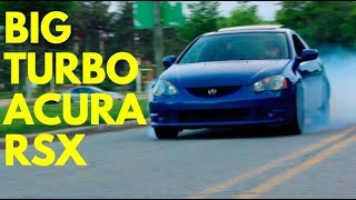 400hp boosted acura rsx dc5 review